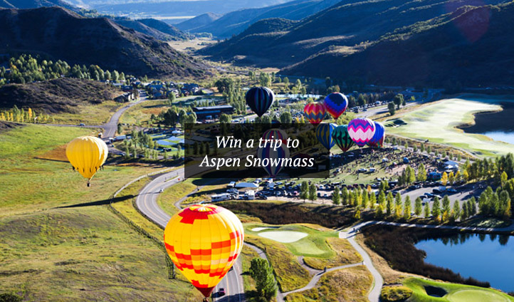 Win a trip to Aspen Snowmass