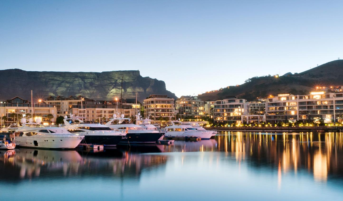 Take a stroll along the stylish V&A Waterfront