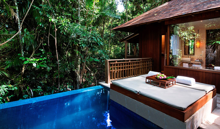 Take a dip in your plunge pool