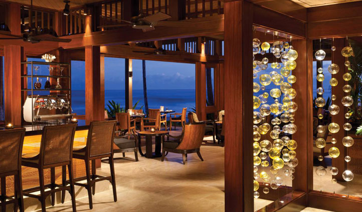 Enjoy a romantic candlelit dinner with breath taking views
