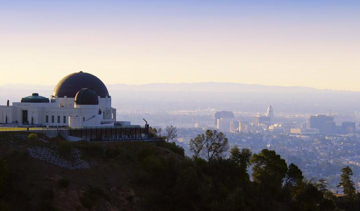 The observatory in LA, USA
