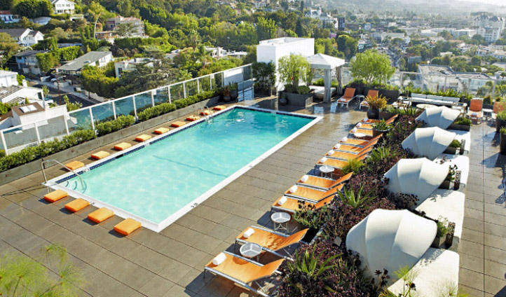 A rooftop pool you'll never want to leave