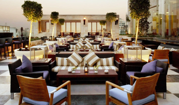 Enjoy a sundowner on the rooftop terrace