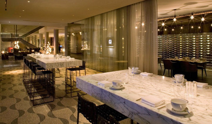 Fine dining and marble table tops