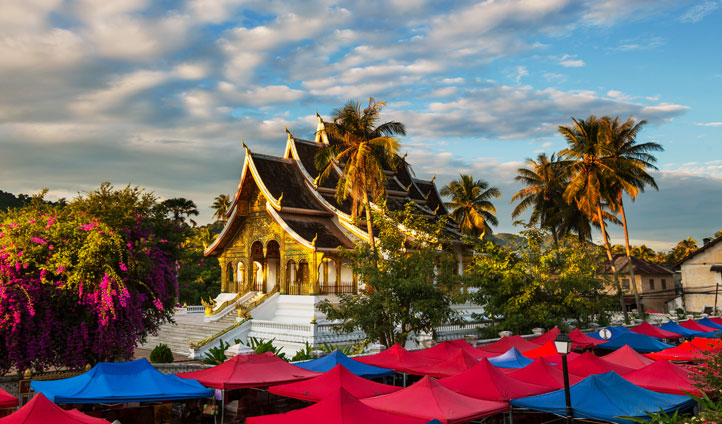 Explore the vibrant archietcure of Luang Prabang