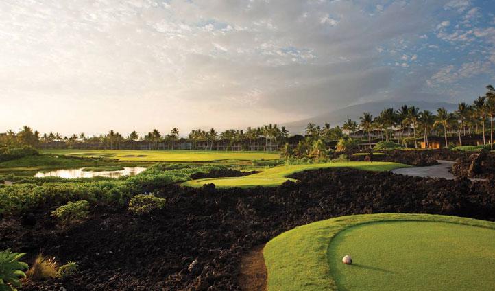 Take a trip to the luscious golf course