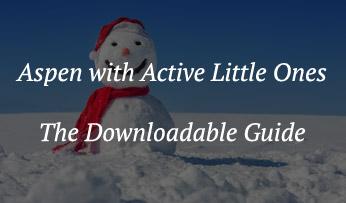 A snowman in Aspen
