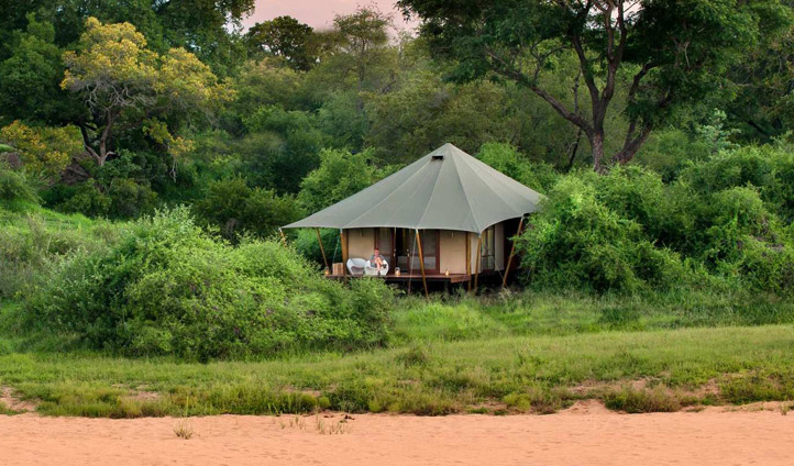 An oasis in the middle of the bush
