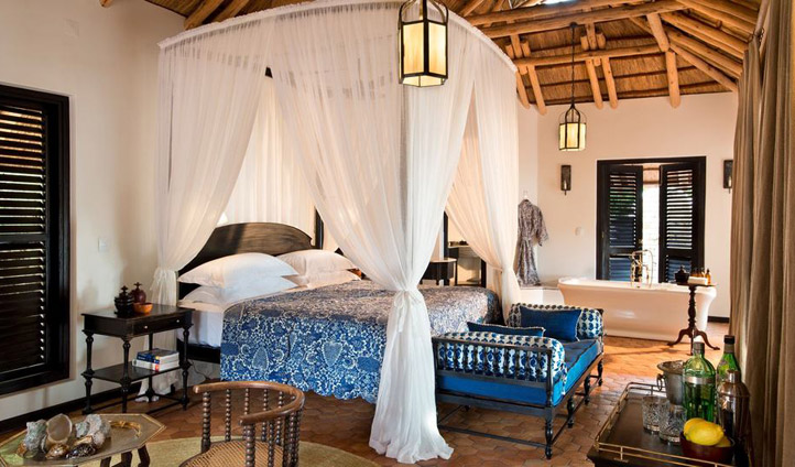 Portuguese opulence in the &Beyond Benguerra Island suites