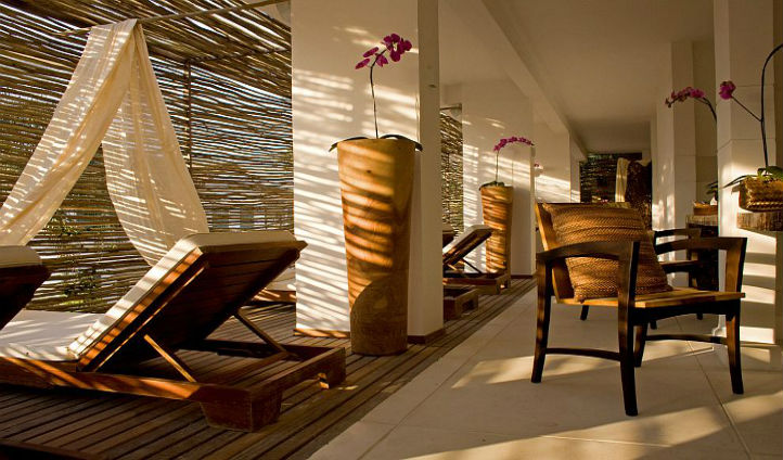 Take a trip to the elegant spa and enjoy the unique treatments