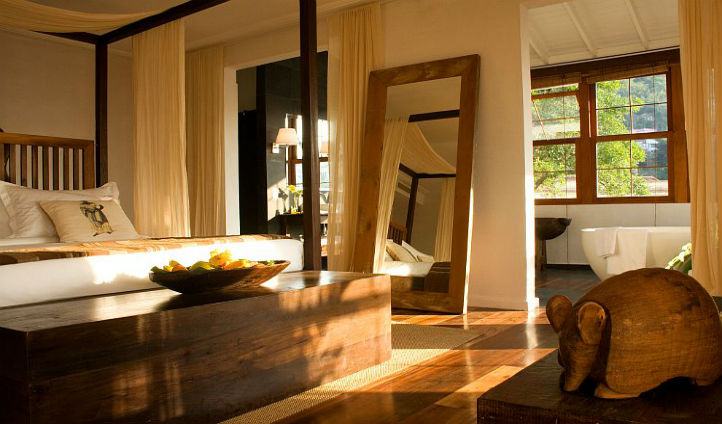 Soak up the tranquil atmosphere in you quaint suite