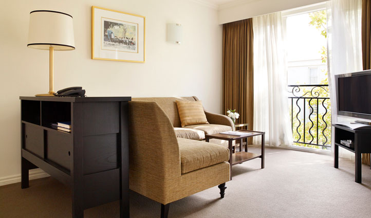 Neutral furnishings at the Lyall