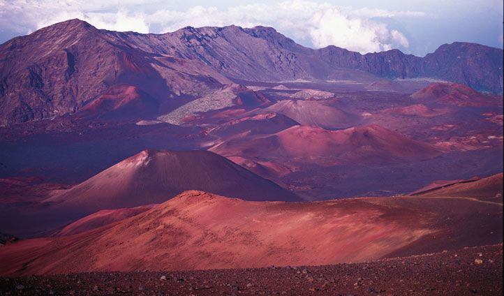 Explore the breathtaking Haleakala crater on foot