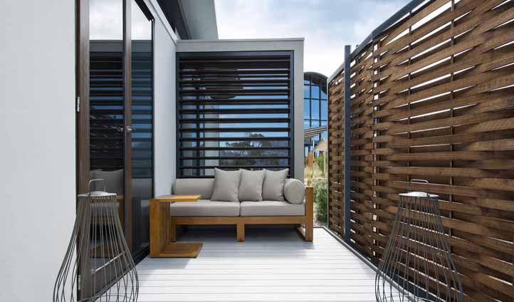 Enjoy the perfect summers day on your rooms private deck
