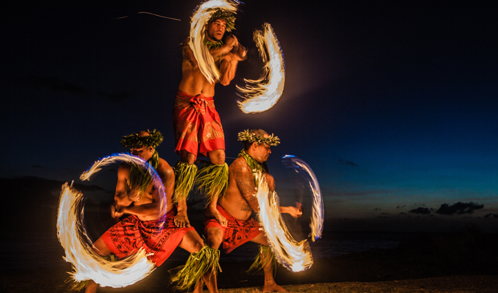 See a traditional luau in Maui