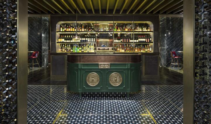 The stylish bar
