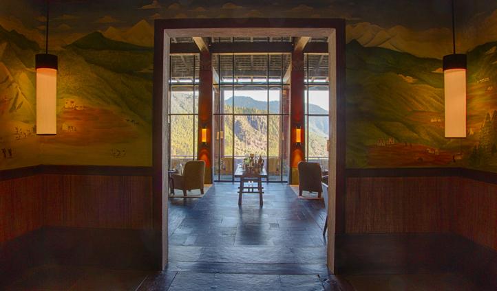 Views at Gangtey Lodge