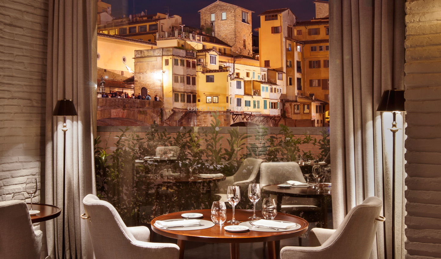 Dinner with a view at Caffe Dell Oro