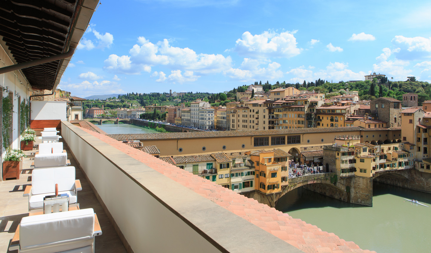 Soak in the views from the Portrait Firenze