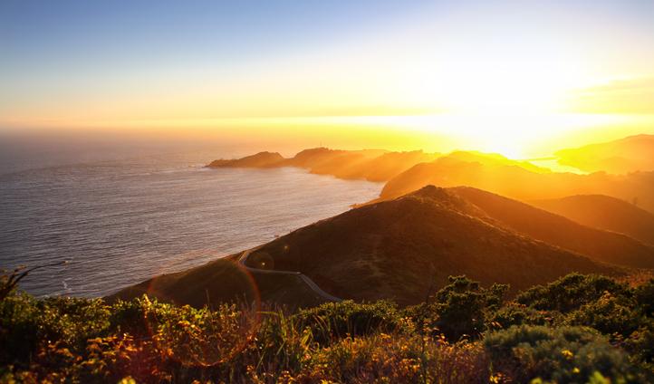 Watch the sunrise over Maui