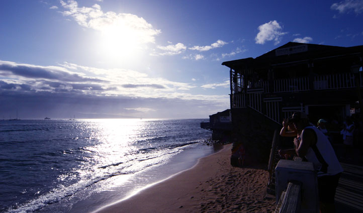 Take a walk along the sandy shores as the sun hits your face