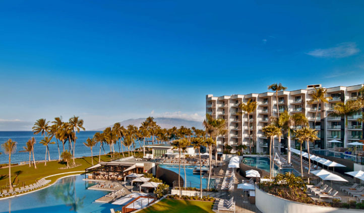 Hit the beach at the Andaz Maui