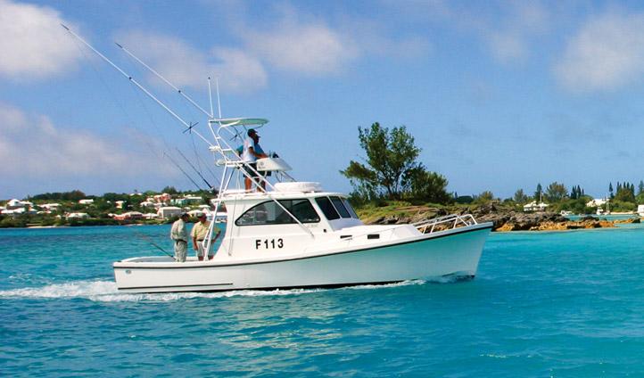 A boat in Bermuda