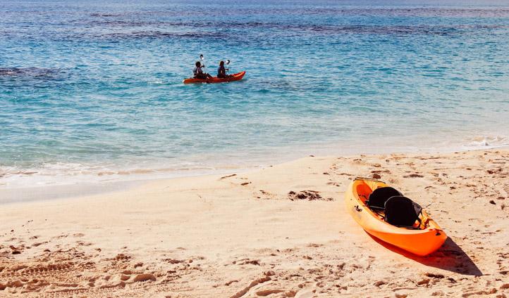 reefs kayak
