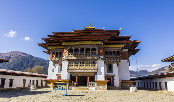 Get up and explore the stunning Gangtey temple with your local guide