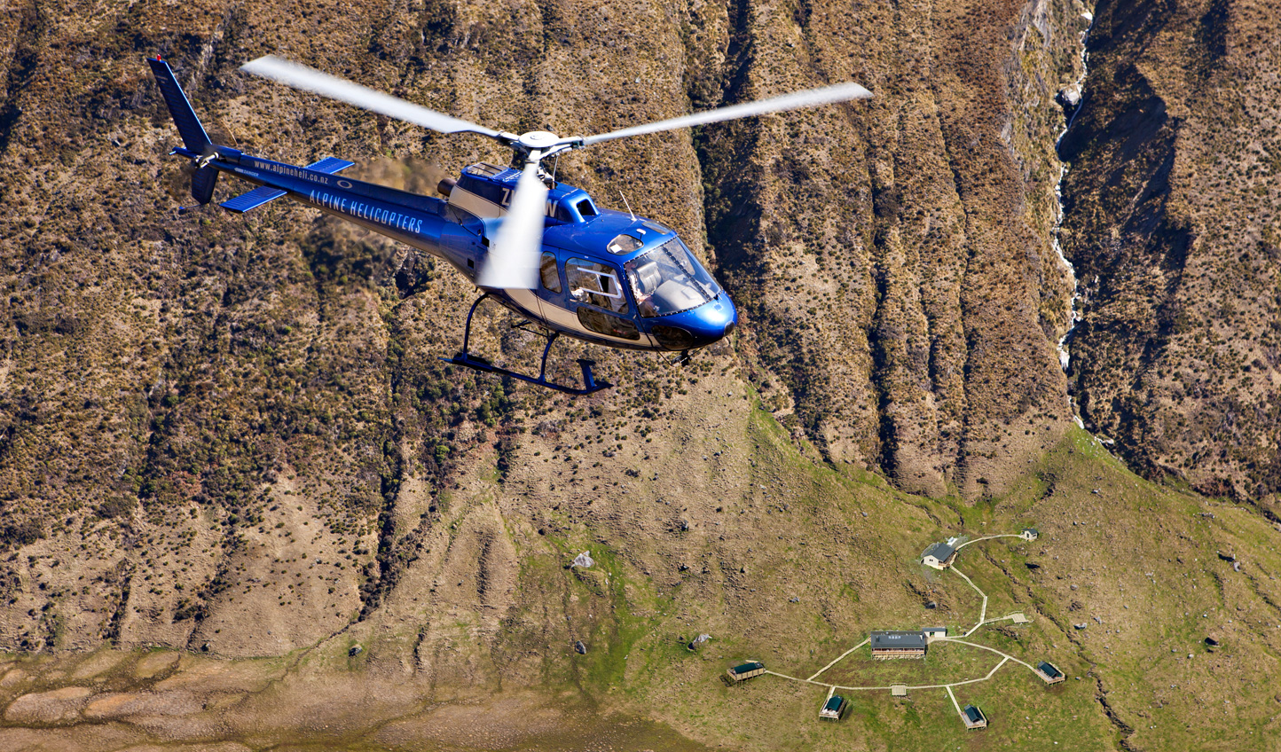Your private helicopter will wisk you off to untouched trails ready to tear up downhill
