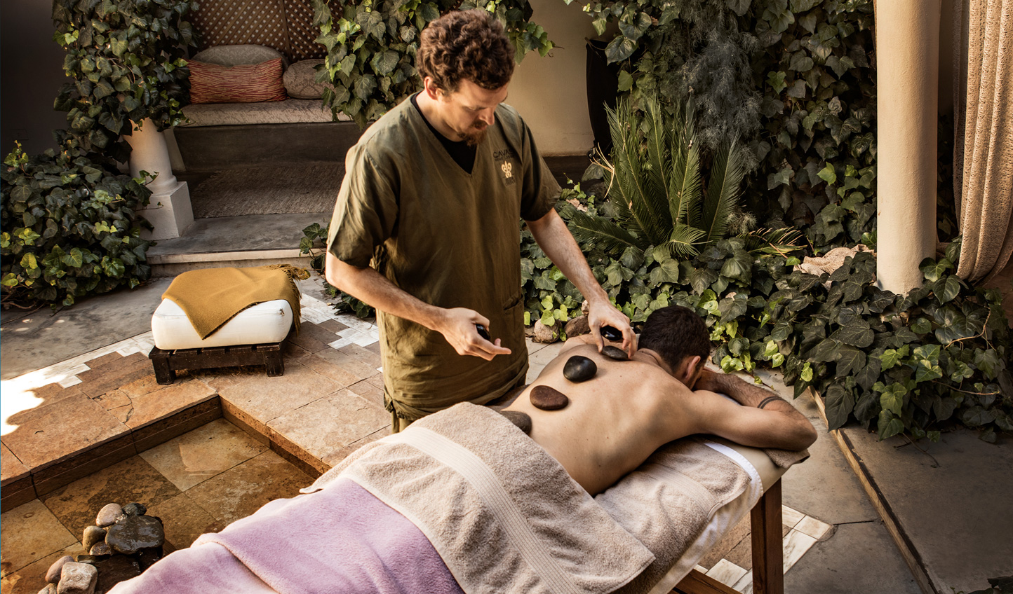 Retreat to the spa and enjoy a soothing massage