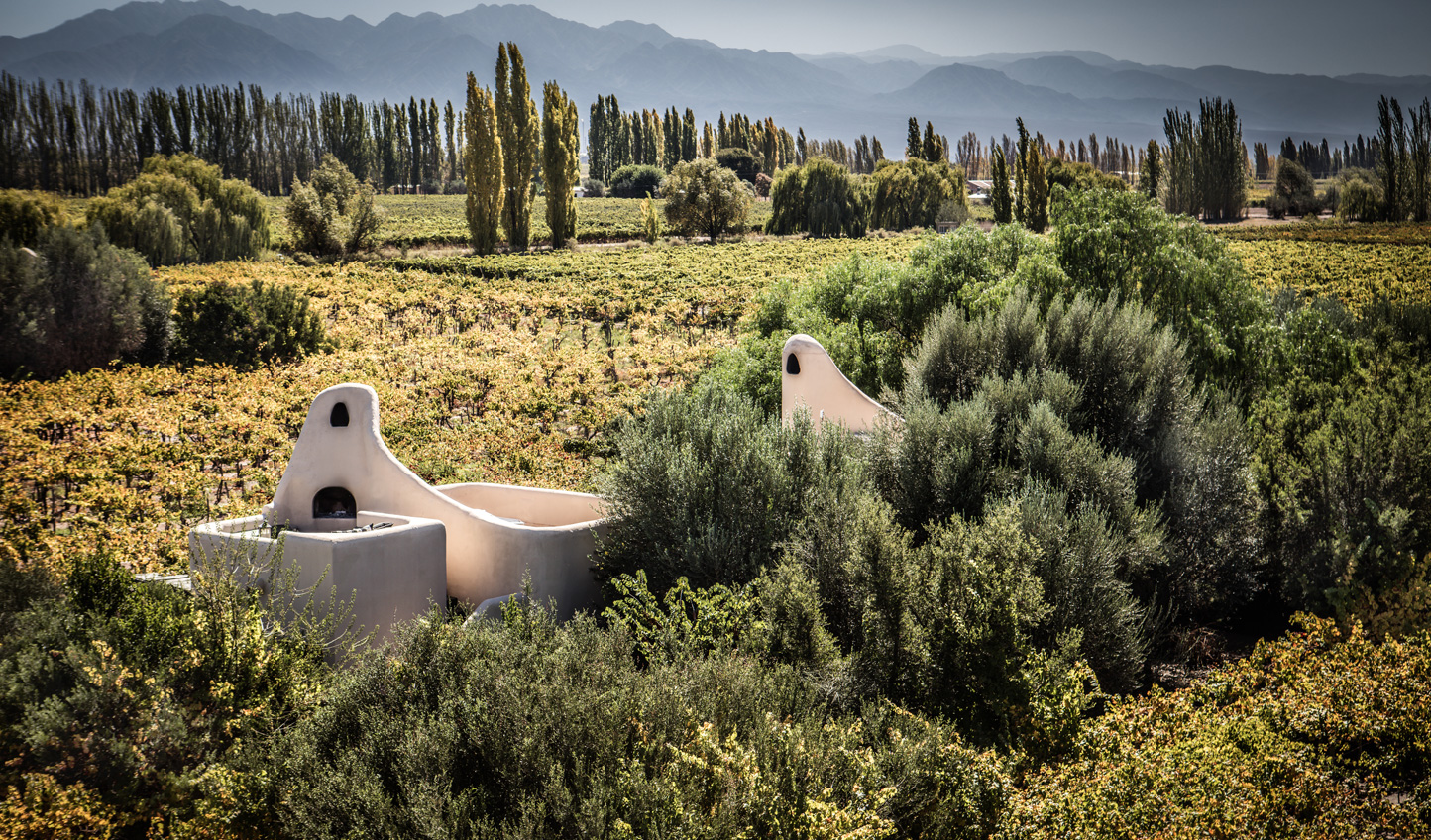 Unique architecture that peppers the Mendoza landscapes