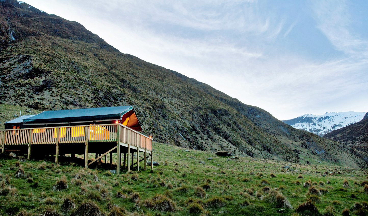 Escape to the wilderness at Minaret Station