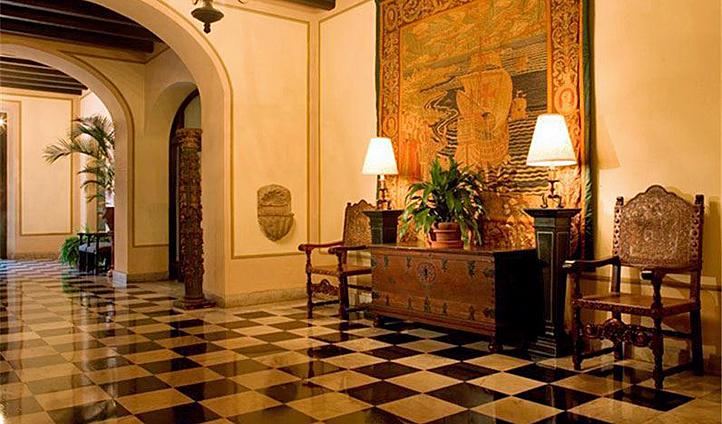 El Convento's lobby, Puerto Rico