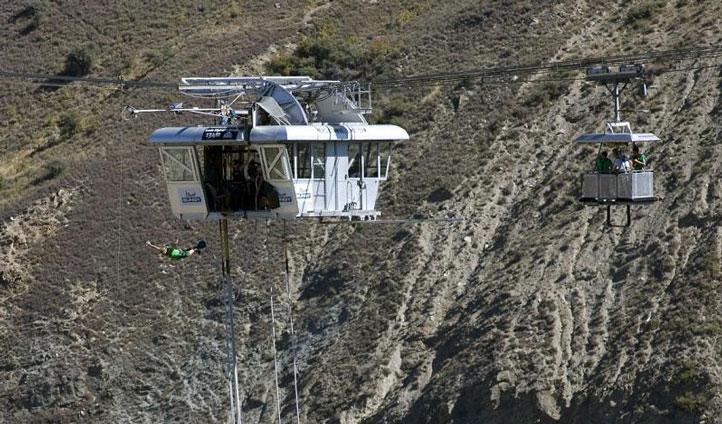 new zealand bungee jump