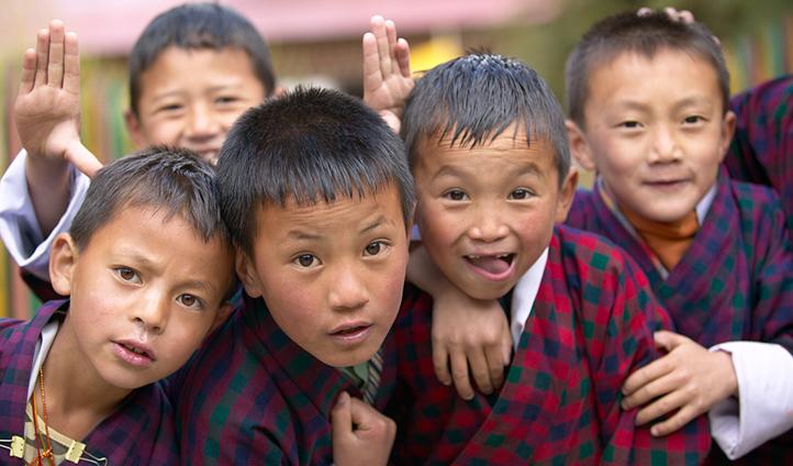 Visit a few locals schools in Punakha