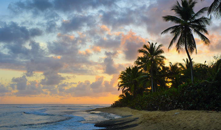A sunset in Puerto Rico