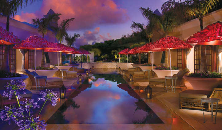 Relax by the pool in Bermuda