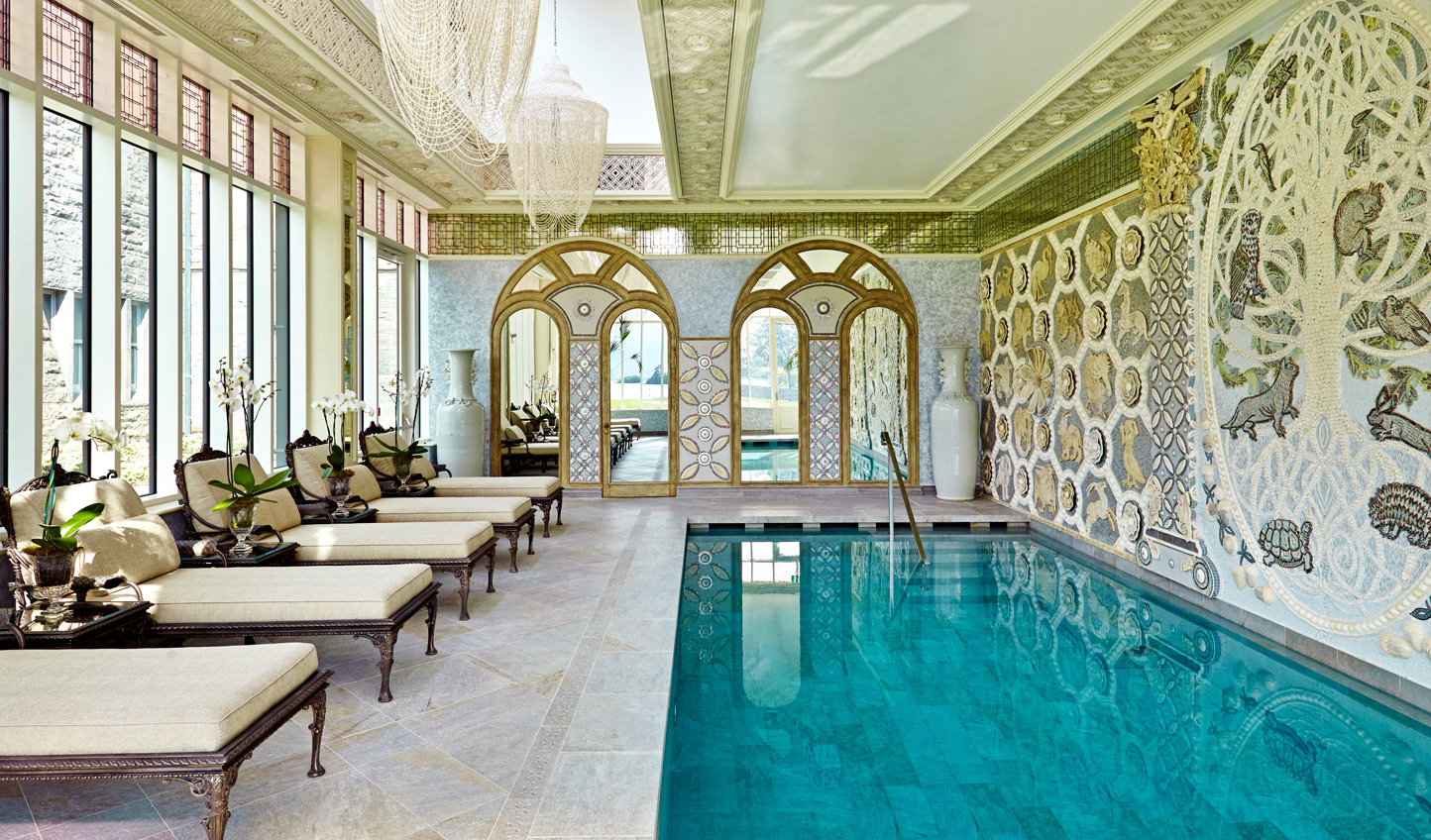 Fancy a dip? Take the plunge in the indoor pool