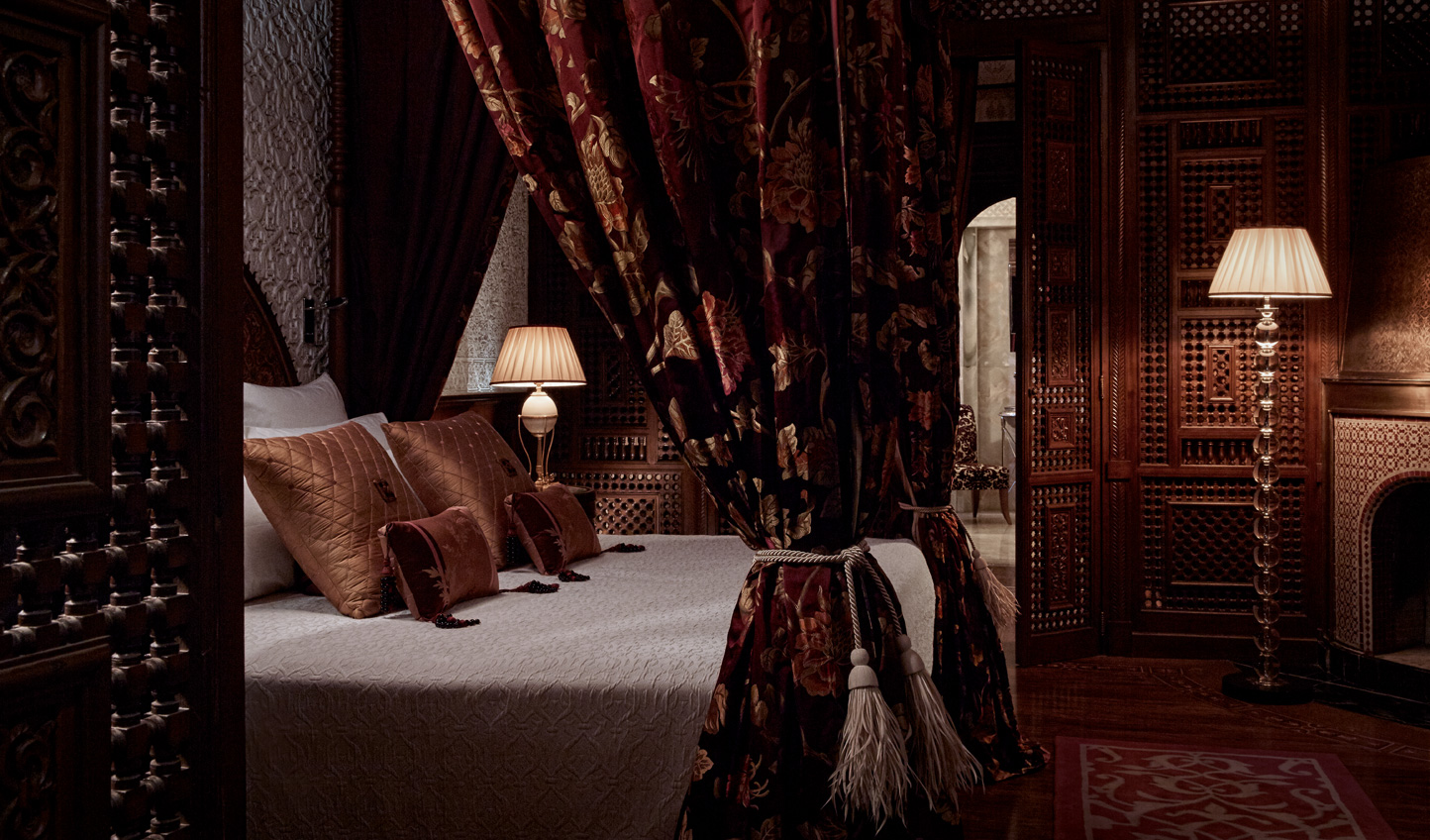 Cosy up in the seductive luxury of Royal Mansour