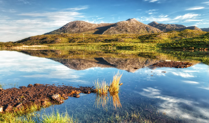 From mountains to glass-like lakes, there's plenty to explore