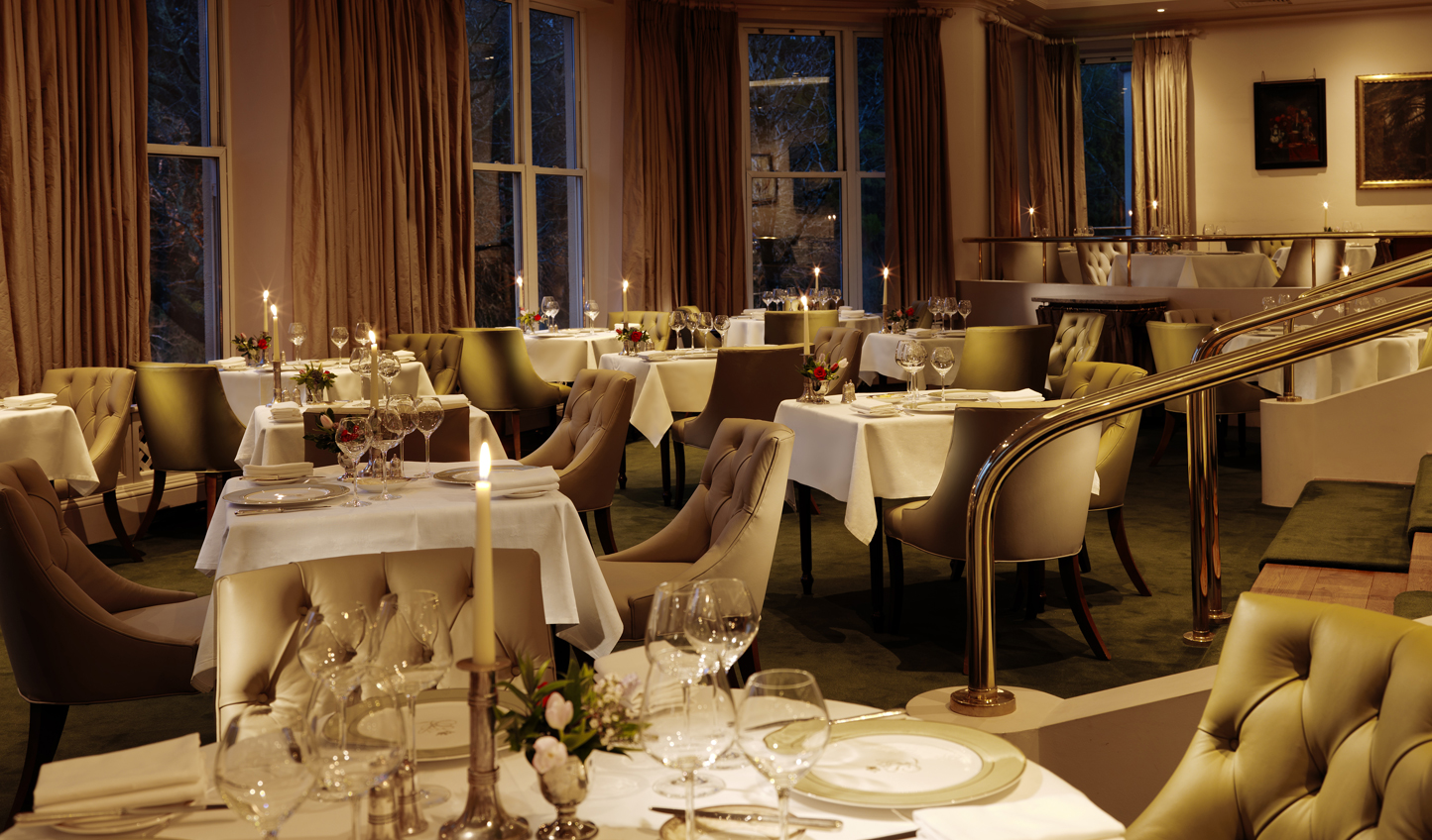 Book a table at The Falls Restaurant for a touch of gastronomy