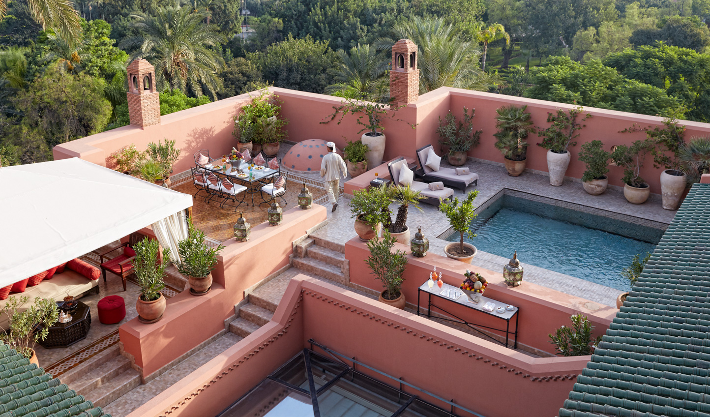 Hideaway in the luxurious Grand Riad
