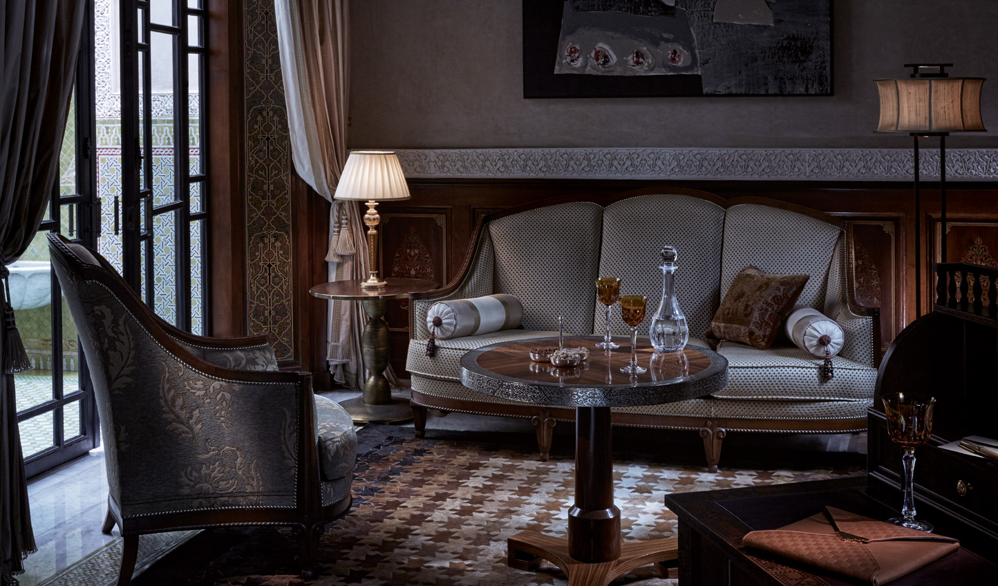 Cosy interiors with traditional Moroccan touches