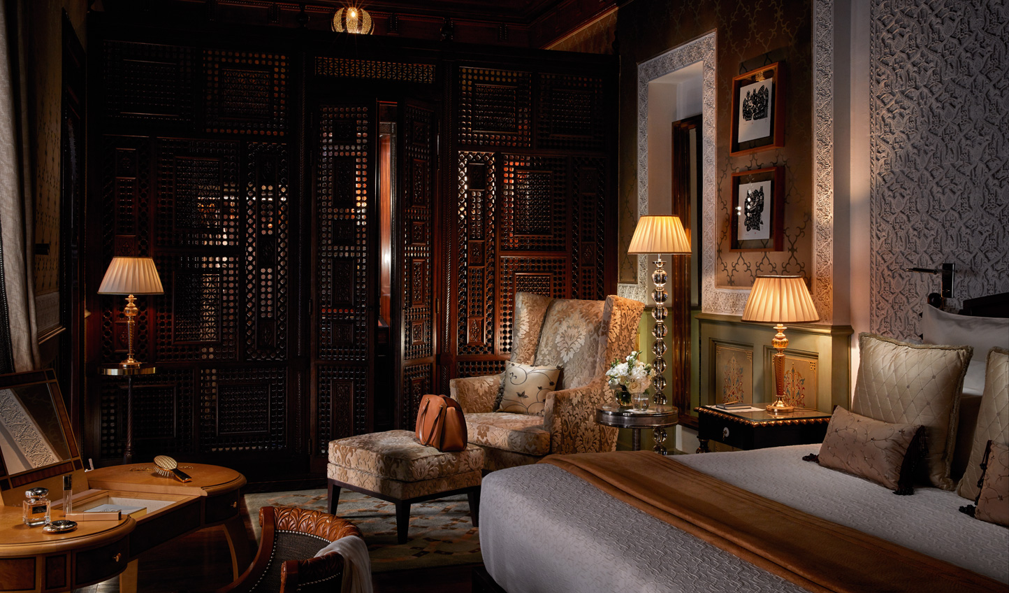 Rooms that ooze opulence and tradition in equal measure