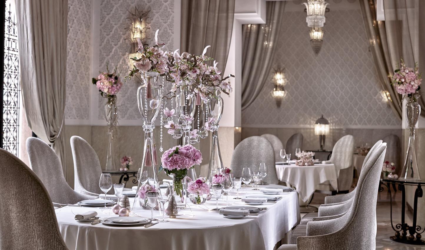 Elegant and refined cuisine at La Grande Table Francaise