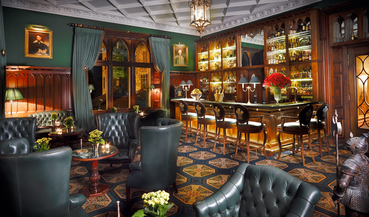 Pull up a chair over a whiskey in the Prince of Wales Bar