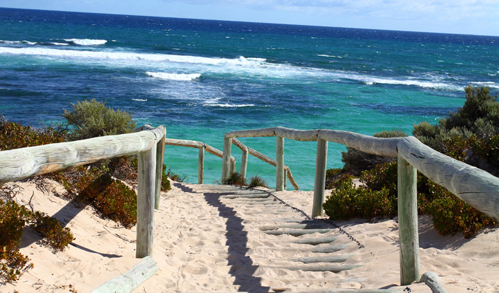 Beautiful Rottnest Island, Australia