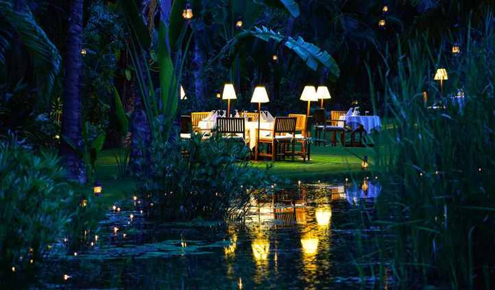 Dine under the stars, the perfect end to the perfect day