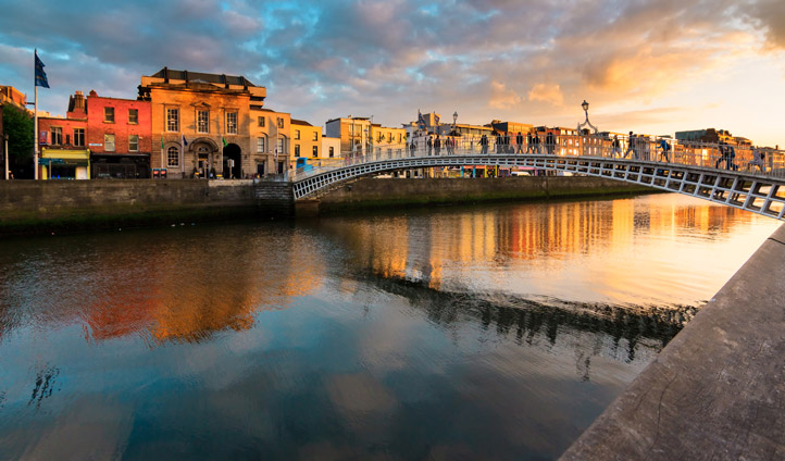 Start your journey in the dancing streets of Dublin
